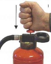 Activeren toestel met slagknop